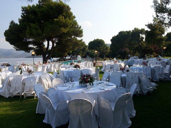 Isthmia, Grecia: Mariage le samedi
