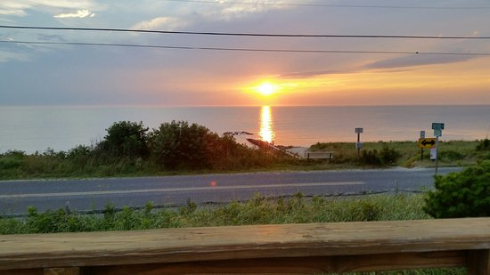Cape May Point, Nueva Jersey: Perfect view right from the deck!