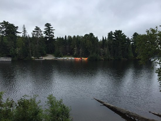 Ely, MN: Boat launch, boat and kayak rental.