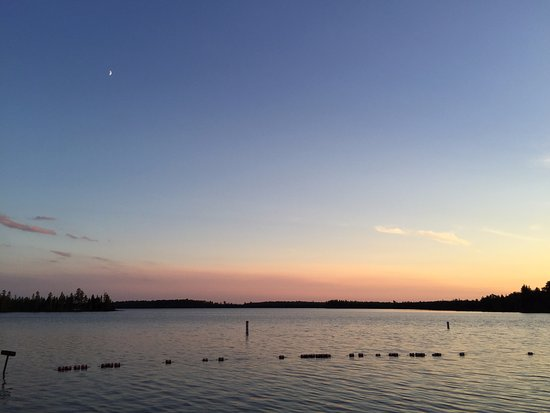 Ely, MN: Twilight at the beach