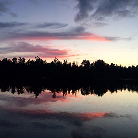 Ely, MN: Gorgeous twilight