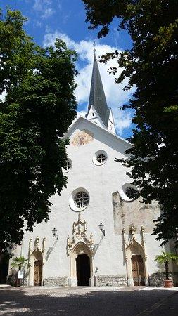 Radovljica, Slovénie : Общий вид церкви