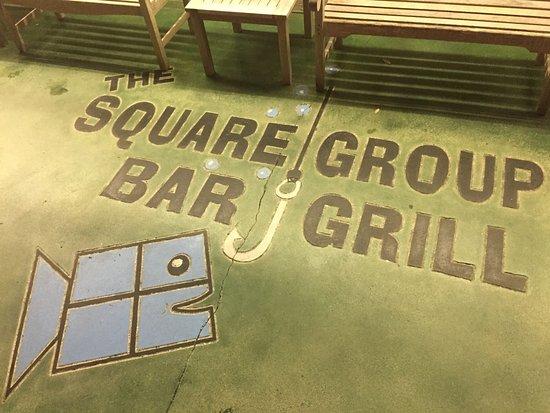 Cudjoe Key, FL: Square Grouper