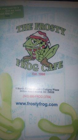 Frosty Frog: 20160819_181135_large.jpg