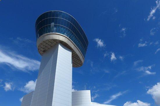 "Chantilly, VA: the ""control tower"" exhibit"