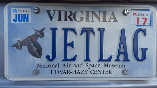 Chantilly, VA: Seen in the parking lot