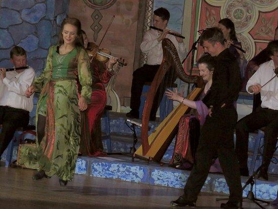 Bru Boru Cultural Centre: one of the dances performed