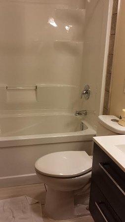 Napanee, Canada: new tub & toilet