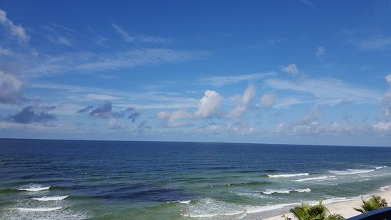 Days Inn Panama City Beach/Ocean Front: View for balcony