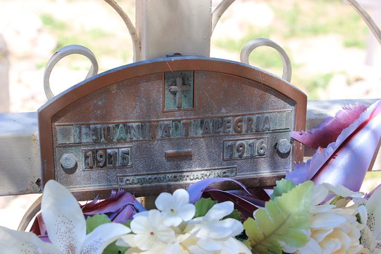 Tumacacori, AZ: The only grave marker