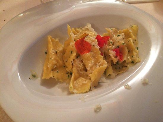 Santa Maria Maggiore, Itália: Ravioli di polenta