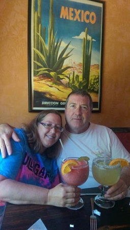 New Boston, NH: Birthday Margaritas at La Cabana
