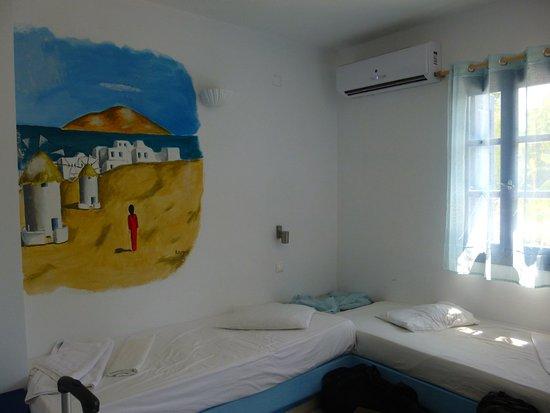 Casa di Roma: Chambre quadruple - lits simples