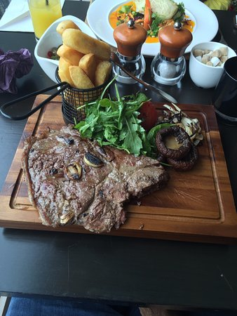 Inverurie, UK: Steak