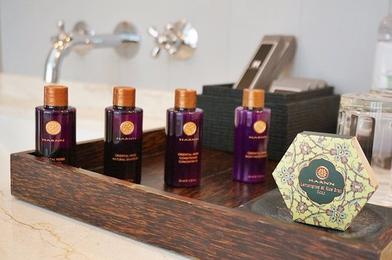Hotel Des Artists : Amenities in bathroom