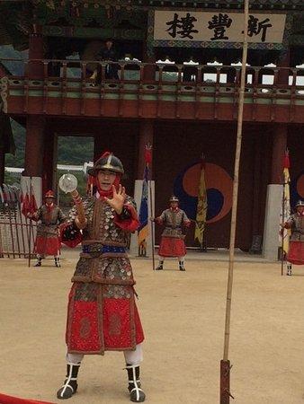 Suwon, Corea del Sur: 武芸ショー