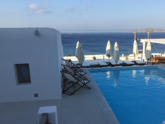 Lithos by Spyros & Flora: View from room