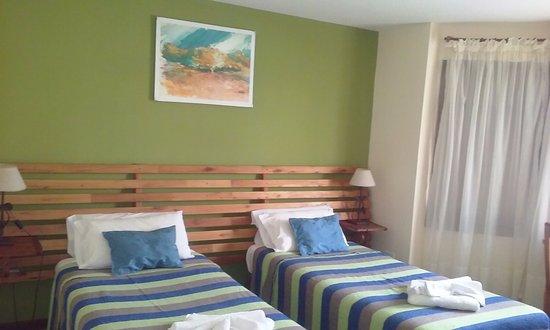 Posada Karut Josh: La habitación del lugar, muy cómoda y bien calefaccionada.