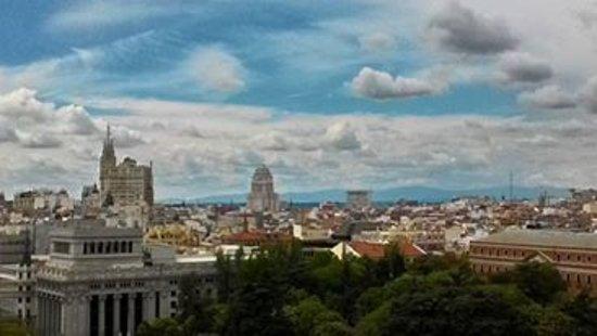 Palacio de Cibeles: panorama, nuvole spettacolari