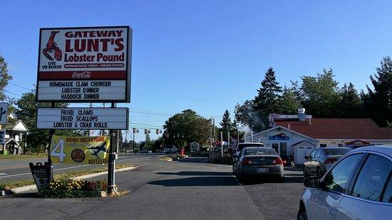 Trenton, Μέιν: Gateway Lunts Lobster Pound