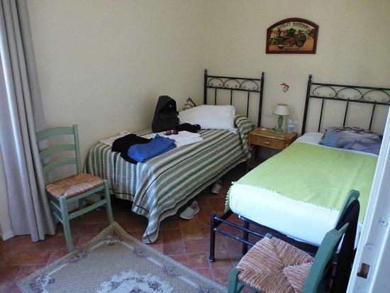 Castelfiorentino, İtalya: La chambre 2