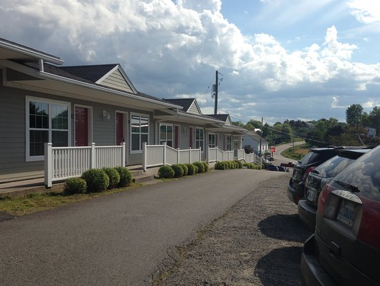 Grand Pre, Canadá: View of the motel rooms