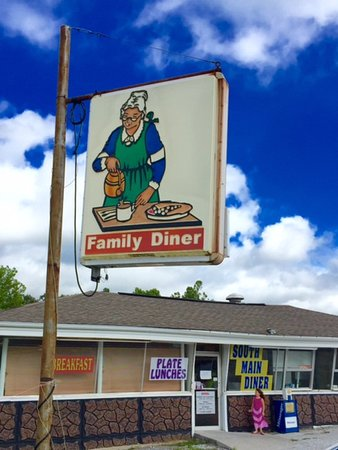 Family Diner in Madisonville, Kentucky.