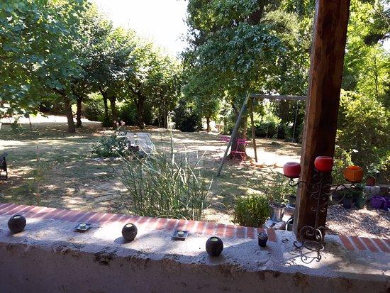 Saint-Denis-sur-Loire, Frankrike: jardin