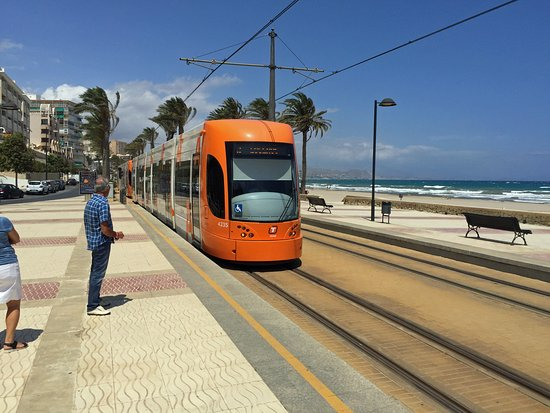 alicante tram to el campello