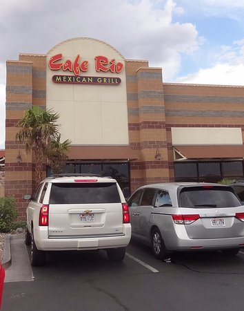 Cafe Rio St George Ut Hours