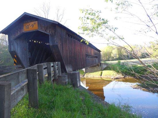 Ashtabula, Οχάιο: Best Covered Bridge