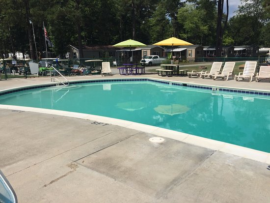 Gloucester, VA: Empty Pool on Hot Sunny Day