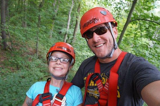 Rockbridge, Οχάιο: Hanging out in the trees...