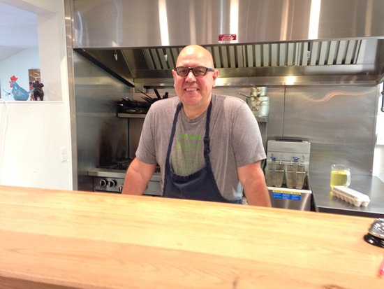 Summerville, Kanada: The chef!