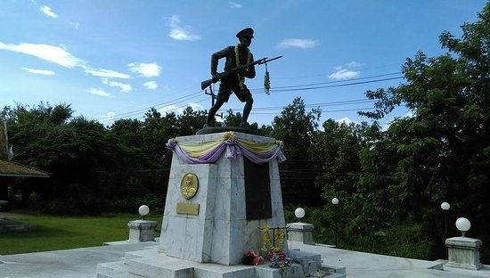 Chumphon, Thailand: Youth Volunteers Monument