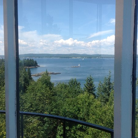 Owls Head, ME : Taken from inside looking out on the view! Breath taking!