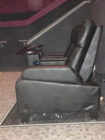 Enjoying comfortable seats
