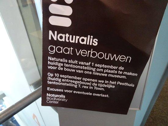 National Museum of Natural History (Naturalis): verbouwing en nieuwbouw museum;Naturalis biodiversity centre