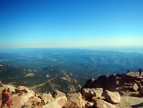 View from Pike's Peak - Picture of Pikes Peak, Colorado ...