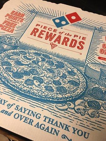 Englewood, Οχάιο: Pizza box