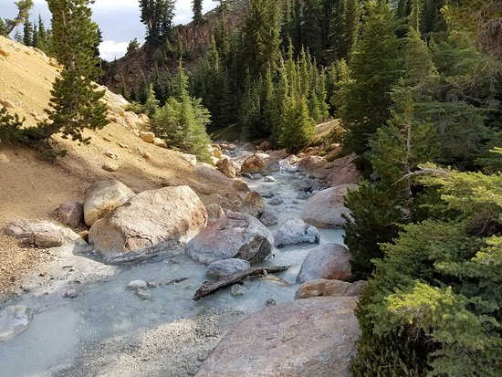 Mineral, Californien: Bumpass Hell Creek