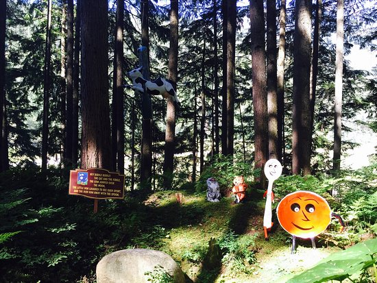 Revelstoke, Canada : The Enchanted Forest