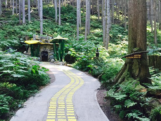 Revelstoke, Canada: The Enchanted Forest