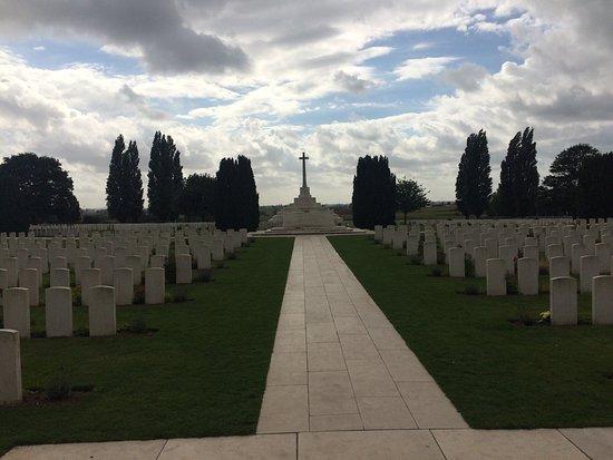 Зоннебеке, Бельгия: Tyne Cot Cemetery