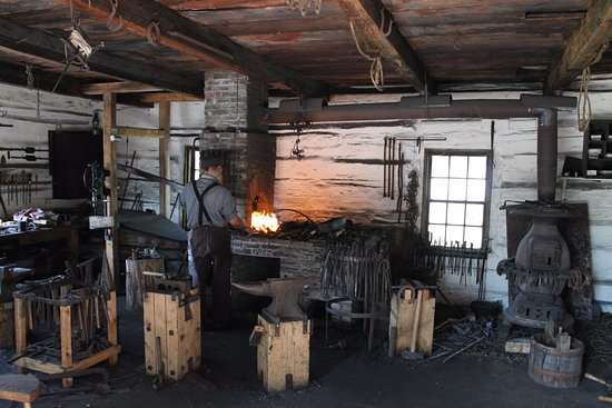 Morrisburg, Kanada: Blacksmith shop.