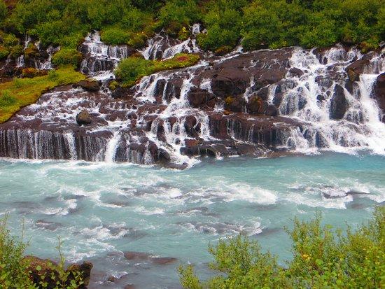 Husafell, ไอซ์แลนด์: The Lava Falls