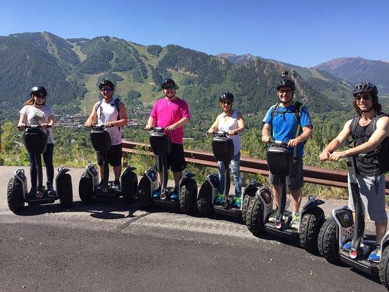 Segway Aspen: Our Family Segway Tour on Red Mountain