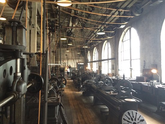 West Orange, NJ: The heavy machinery workshop from the Thomas Edison Historic Park