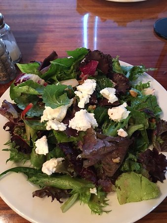 Grandview, MO: I started off with this delicious half salad that included dried cherries and candied walnuts.
