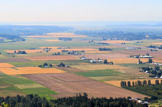 Mount Vernon, Waszyngton: View from top of the little mountain